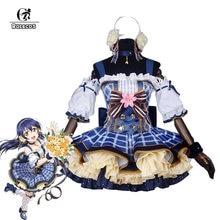 Rolecos anime japonês amor ao vivo fantasias cosplay buquê de flores arousa kousaka honoka minami kotori ayase eli cosplay traje