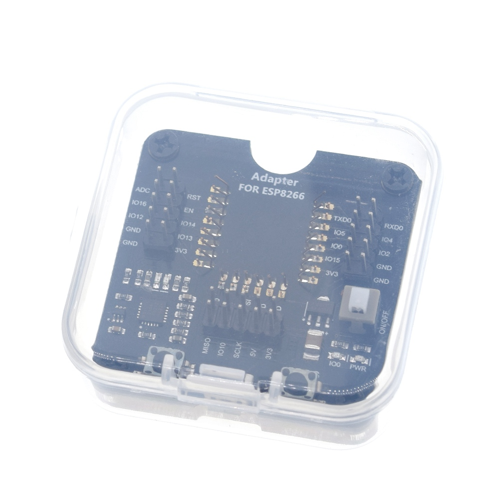 Test Burn Board Burning Fixture Development Board for ESP-01//01S//12E//12F//12S//18T ESP8266 IoF Wireless WIFI Transceiver Module ESP8266 Development Board
