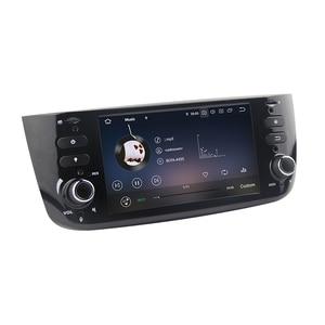 Image 3 - לSINOSMART 4G RAM 8 Core מעבד רכב GPS ניווט נגן לפיאט Linea פונטו Evo Grande פונטו 2005 2020 עם Canbus