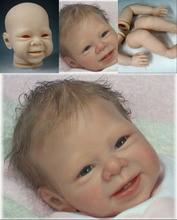цена на DIY Reborn Bebe Doll Kits Soft Vinyl Limbs Mold for Making 20-22