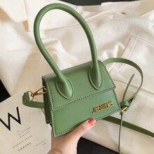 Женская мини-сумка-тоут, новинка, крокодиловый узор, флип-сумка через плечо, женская простая сумка на плечо, маленькая квадратная женская сумка