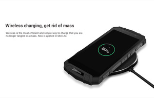 Image 4 - DOOGEE S60 Lite IP68 Wireless Charge Smartphone 5580mAh 12V2A Quick Charge 16MP 5.2 FHD MTK6750T Octa Core 4GB 32GB NFC Phone