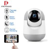 Pripaso 1080P Wifi Cloud IP Camera Intelligent Auto Trarcking Home Security  IR Night Vision Surveillance Baby YCC365 Plus