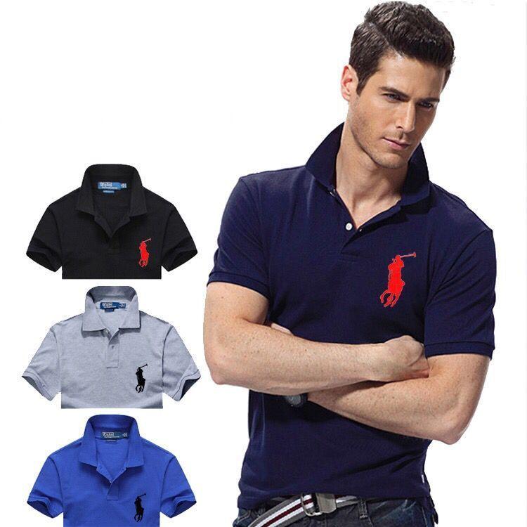 Повседневная брендовая рубашка-поло для мужчин, модно и устойчив брендовая одежда, высокого качества и тонкий, M-XXL