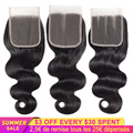Body Wave Lace Closure Only Brazilian Human Hair Lace Closure 4x4 Transparent Lace Closure 20 Inch Hair Extensions Ccollege