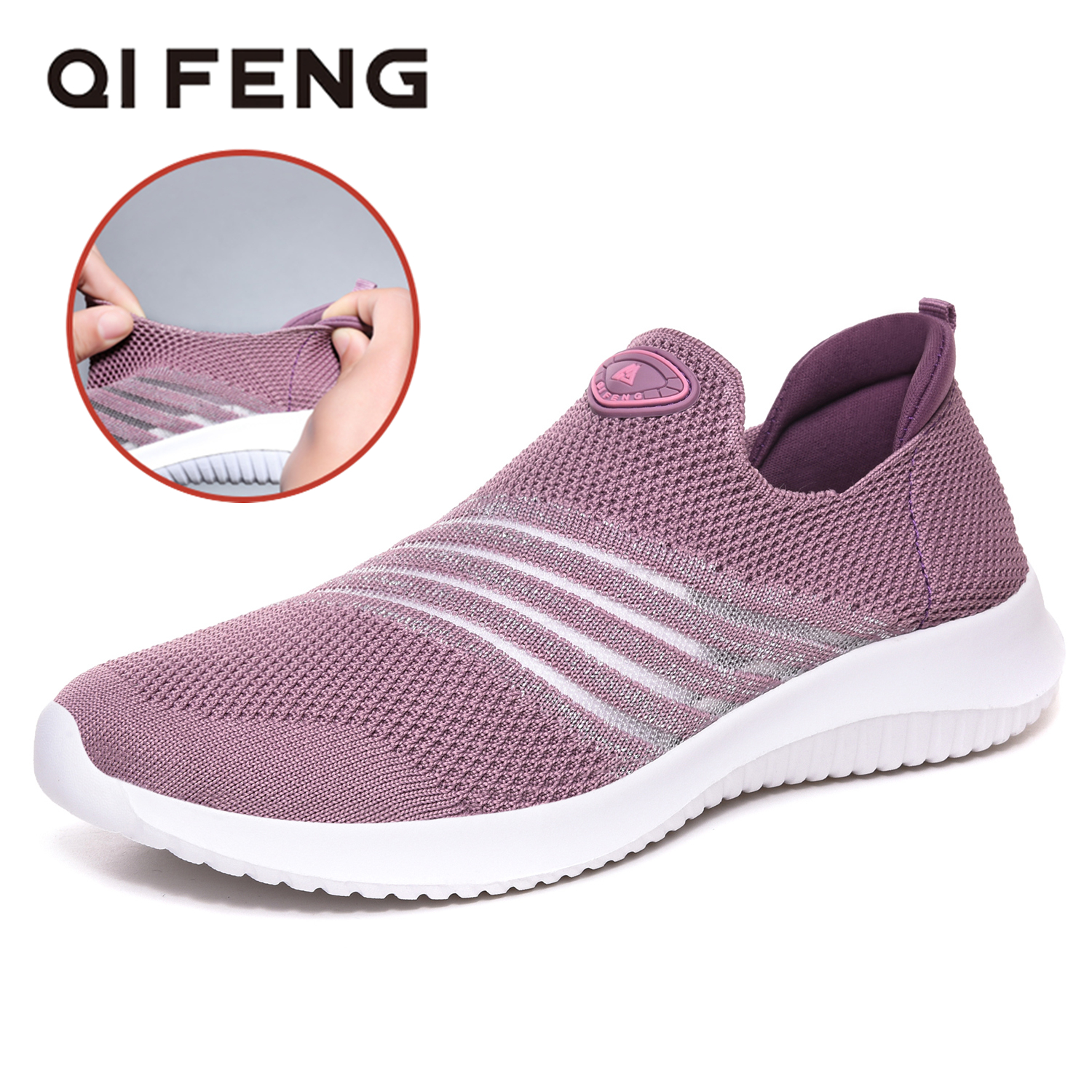 Running Shoes Woman Spring Fashion Ladies Sport Shoes Light Summer Brand Off White Mesh Sneaker Korean Shoes Breatheable Female