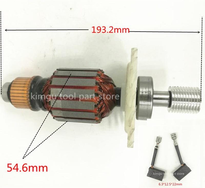 DW718  220-240V Armature  Anchor 391316-01 391316-01SV N030189SV N027083SV Rotor For Dewalt DWS780 DW706 DW716