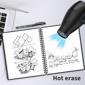 Image 5 - NEWYES dot grille Smart réutilisable effaçable spirale A4 cahier papier bloc notes Journal Journal bureau école voyageurs dessin cadeau