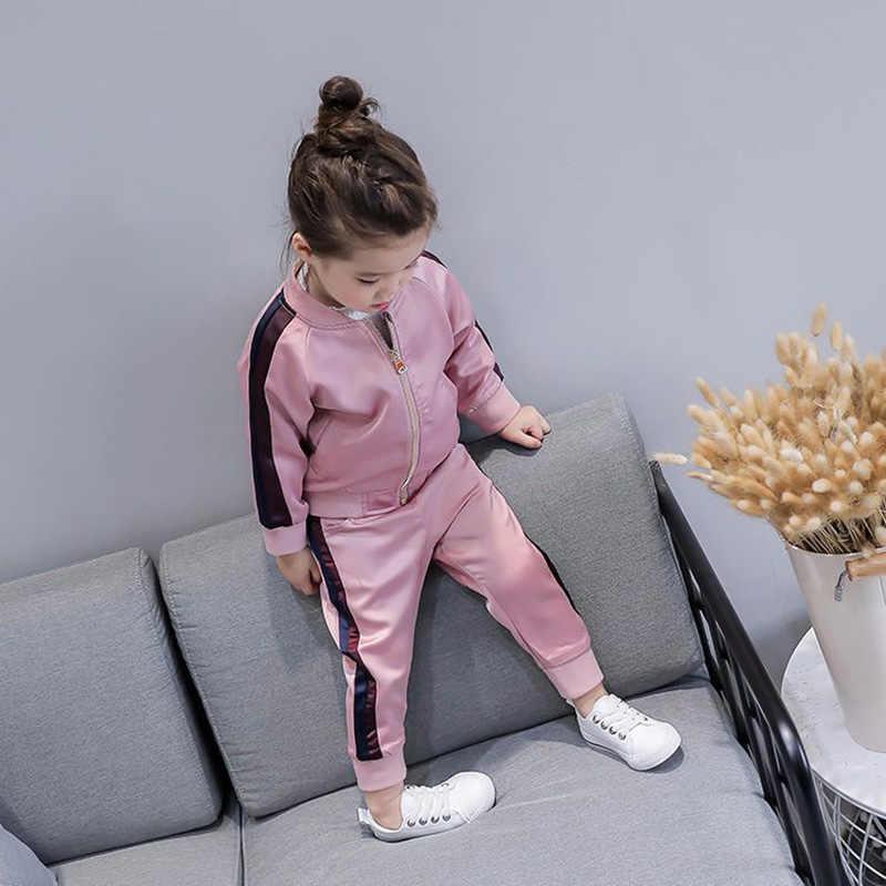 Conjunto de Ropa para Niñas, conjuntos de Boutique para niños, ropa deportiva, uniforme de béisbol, traje deportivo para niñas 3 5 6 8 años