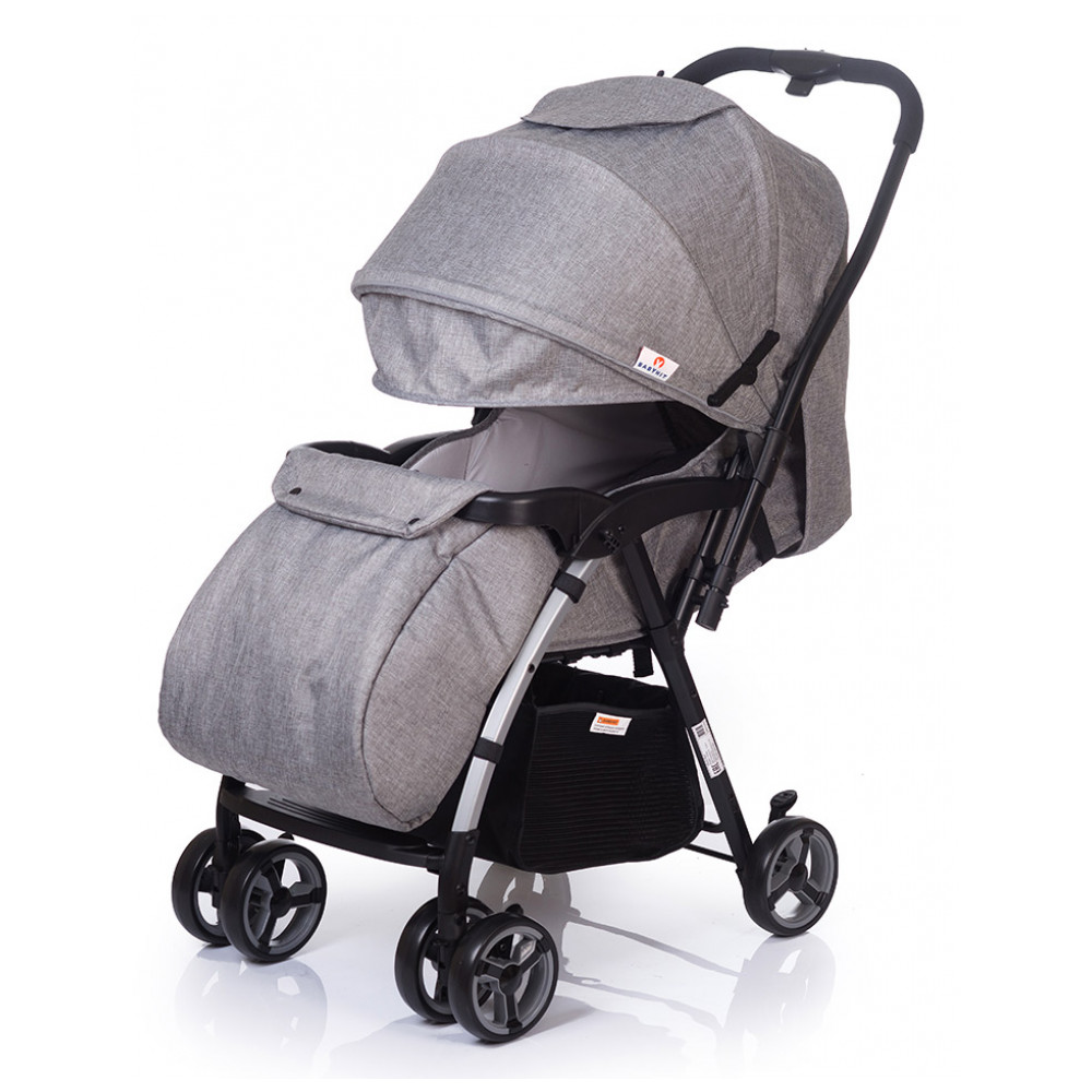 Mother & Kids Activity & Gear Baby Stroller Lightweight Stroller BabyHit 274554 pouch light weight portable travel airplane baby stroller can sit lie car foldable summer baby umbrella cart trolley pram 0 3y