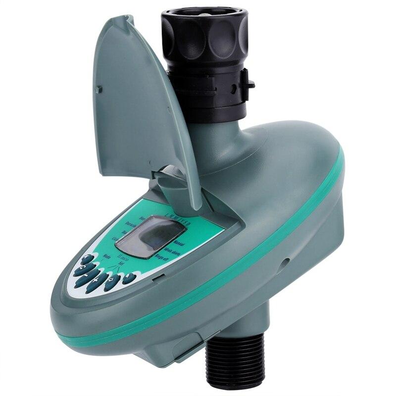 AFBC Casa Automatico Display Lcd Intelligente di Acqua di Controllo del Timer Elettronico Giardino di Irrigazione Irrigazione Timer di Controllo del Sistema 5
