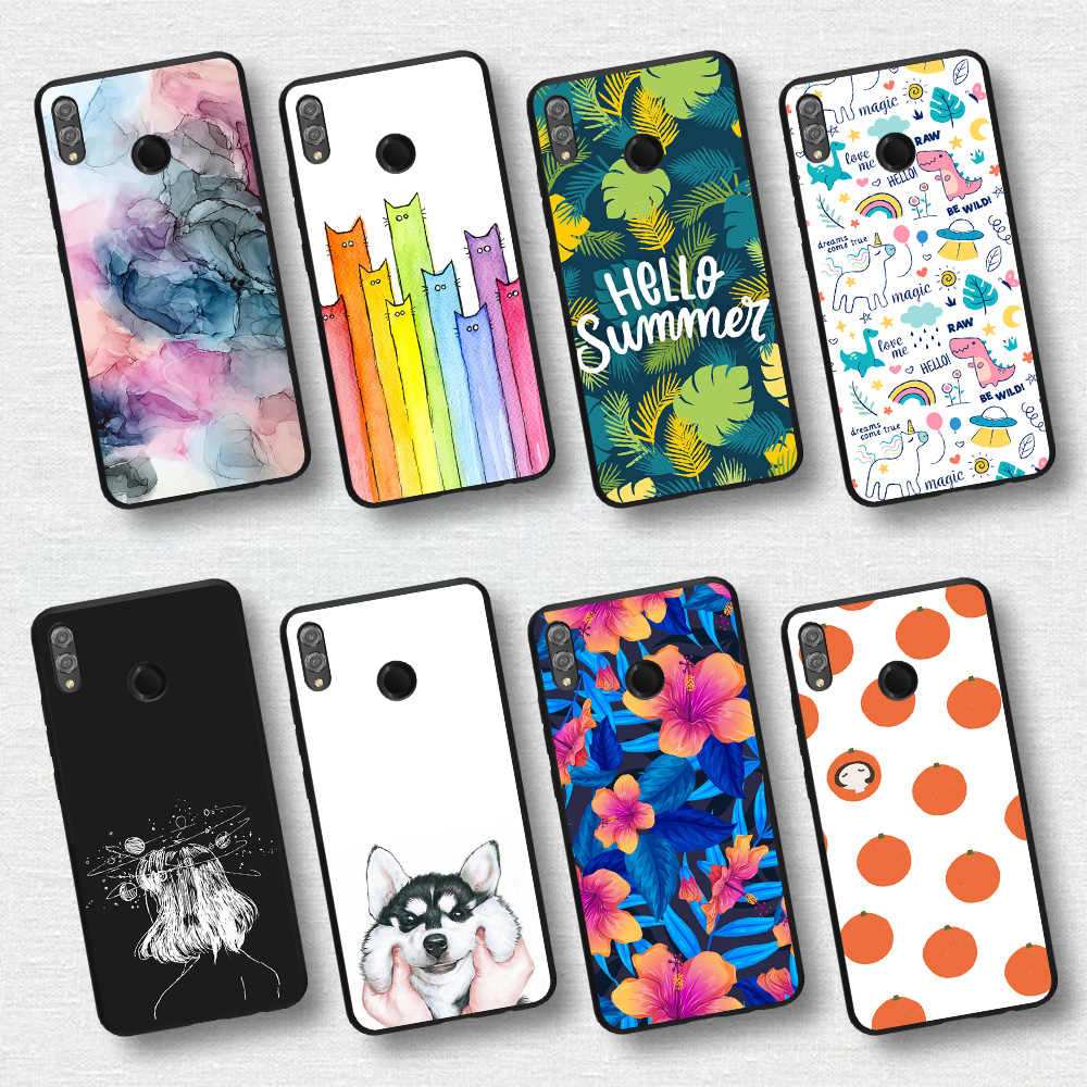 Luxury Protective Cover Case for Honor V10 Phone Case For Huawei Honor 10 Lite Light 10i 10 i Animal / Leaf  Printed Capa