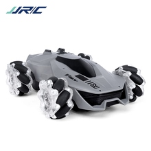 JJRC Q92 RC Stunt Car 1:24 2.4GHz RC Drift Car Remote Control Car 4WD Off-road Vehicles with Music Lights Water Spray Car RTR