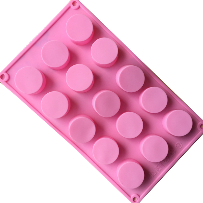 Rectangle Soap Mold Silicone Craft Making Homemade Cake Mould Tool WA