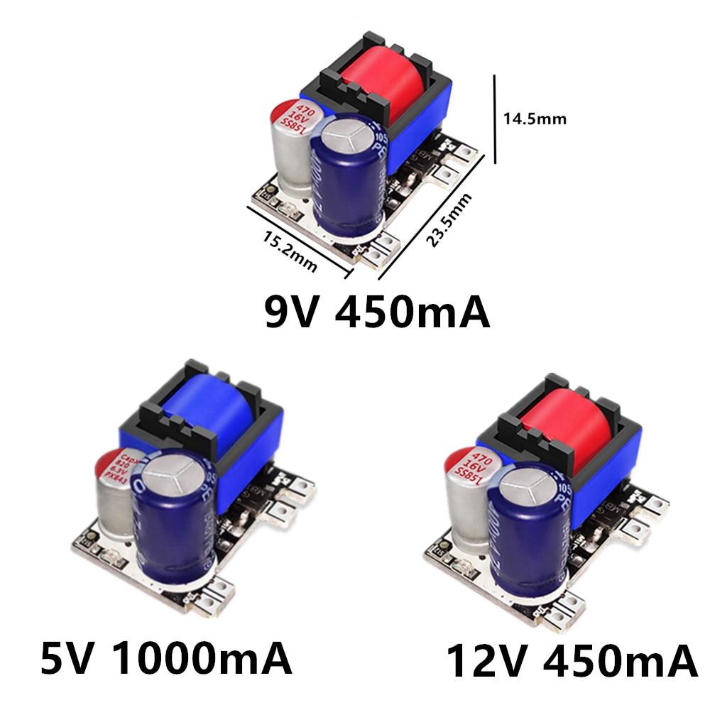 AC-DC 5V 700mA 12V 450mA 9V 500mA 3.5W Precisie Buck Converter Ac 220V Om 5V Dc Step Down Transformator Voeding Module 6