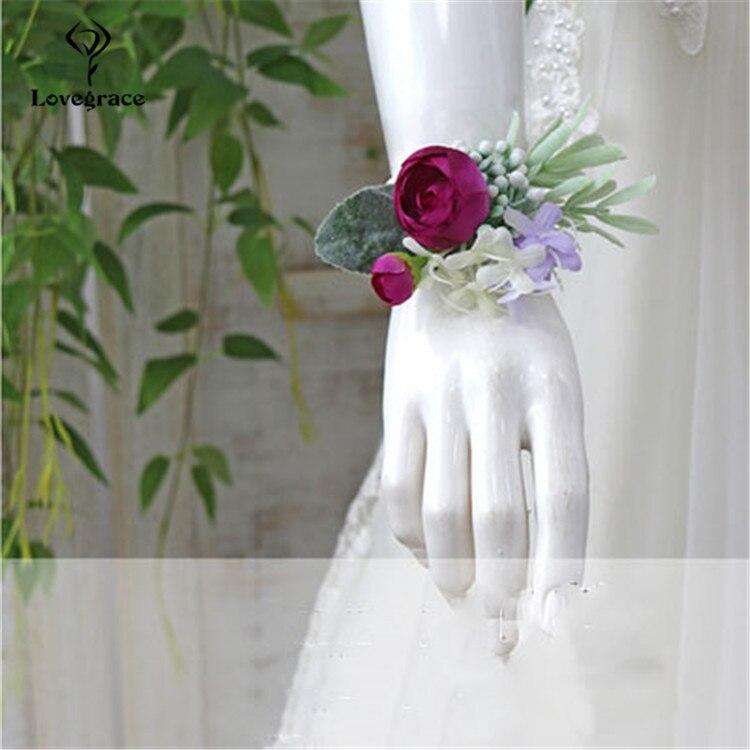 wedding wrist corsage  (6)