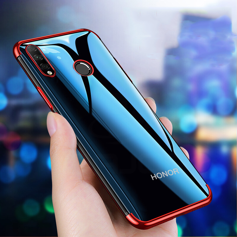 Transparent Case For Huawei Honor 9X Premium Case Soft Cover Luxury Case For Honor 9X 9 X Case Global Version Shockproof Bumper