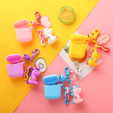 Sweet Unicorn Decorative Silicone Case for Apple Airpods Air Pods Accessories Protective Cover Bluetooth Earphone