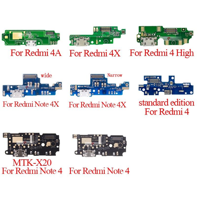 1 шт. для Xiaomi Redmi note 4 4 Pro 4A/Redmi note 4X usb порт для зарядки док разъем плата для зарядки гибкий кабель|Шлейфы для мобильных телефонов|   | АлиЭкспресс
