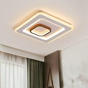 Image 2 - Square/rectangle Modern LED ceiling light lustre led ceiling Lamp for Livingroom Bedroom led lamp Surface mounted ceiling lights