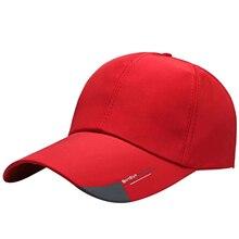 Hat Low-Profile Black Visors Baseball-Cap Trucker-Cap Red White Fashion Unisex Gray Letter-Print