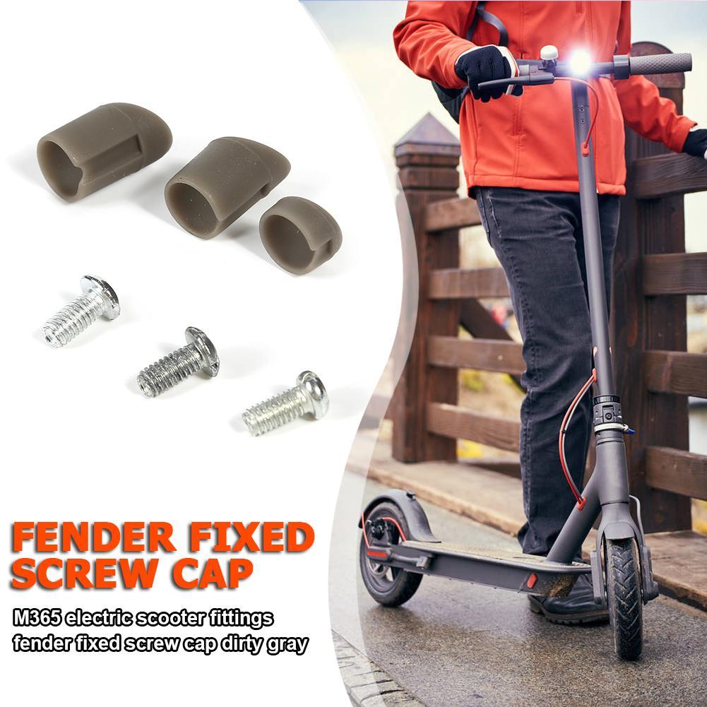 Parts Fender Mudguard Screws Screw Plug Cover Rubber CapFor XIAOMI MIJIA M365