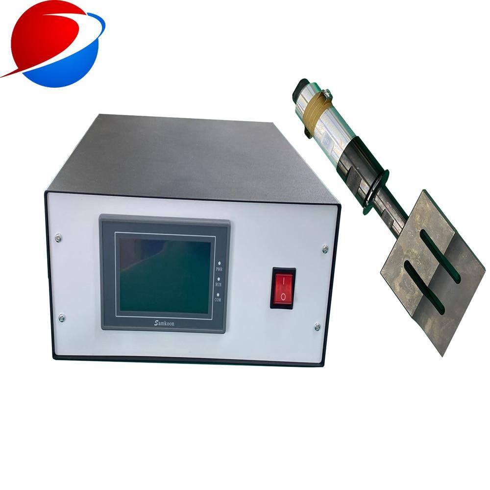 Купить с кэшбэком 1800W/20khz  ultrasonic plastic welding generator for 20khz ultrasonic plastic welding machine