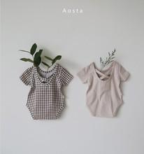 2021 New Summer Newborn Infant Baby Girls Boys Cotton Romper Outfits Jumpsuit Bodysuit Unisex Bodysuits For Toddler Shirt Top