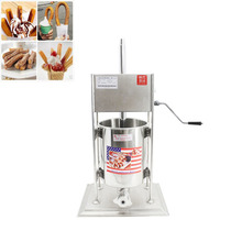 10L Commercial Electric Spanish Churrera Churro Maker Filler Churros Making Machine CE Stainless Steel стоимость