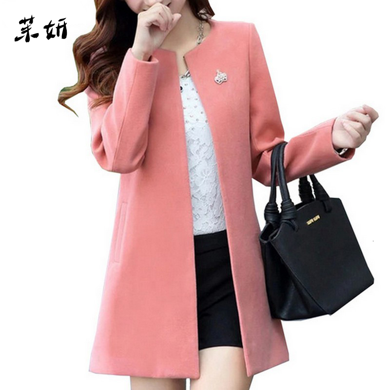Fashion Commuting Woman's Coat Hairy Slim Fit Jacket Female Autumn Winter Coat Women Solid Color Temperament Elegant Women Coat