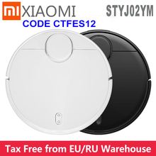Newest Xiaomi Pro Stytj02YM Mijia Mi Robot Vacuum Mop Sweep Cleaner2 LDS APP Control Mi Home 2100pa dry wet cleaning home device