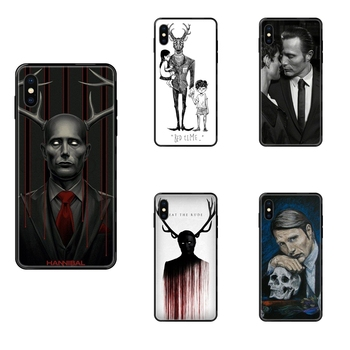 Cool Graham Hannibal Mads Mikkelsen For Galaxy S5 S6 S7 S8 S9 S10 S10e S20 edge Lite Plus Ultra Black Soft TPU Cell Phone Case image