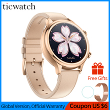 Original Ticwatch C2 Smartwatch Wear OS by Google Built-in GPS Heart Rate Monitor Fitness Tracker Pay Free Gift - Strap