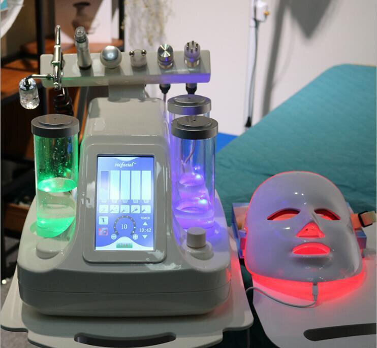 Versión Mejorada 10 En 1 Máquina De Rejuvenecimiento Facial Para El Cuidado De La Piel Con Chorro De Oxígeno