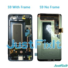 For Samsung Galaxy S9 G960 G960f Defect Lcd Display Touch Screen Digitizer Original 5.8'' Original Super AMOLED Screen(China)