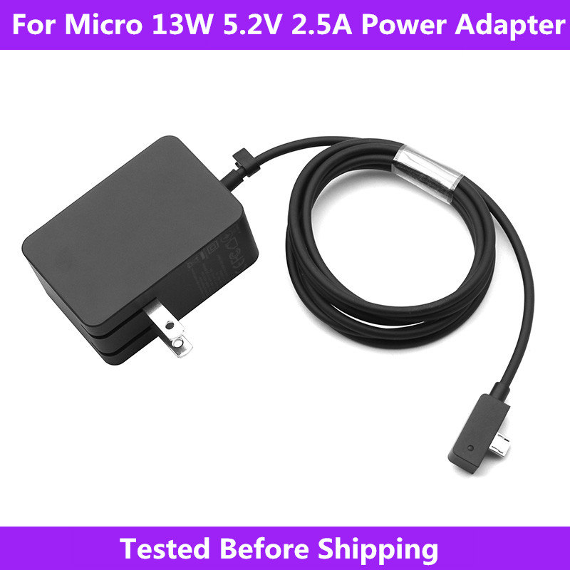 Surface 3 Charger 13W 5.2V 2.5A AC Power Adapter Cord for Model 1623 1624 1645