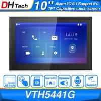 Dahua Original VTH5441G Indoor Monitor 10 1024*600 Touch Screen Color IP Video Intercom IPC Support Alarm Replace VTH1660CH