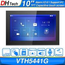 """Dahua 원래 VTH5441G 실내 모니터 10 """"1024*600 터치 스크린 컬러 IP 비디오 인터콤 IPC 지원 알람 교체 VTH1660CH"""