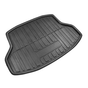 Image 3 - X Autohaux PE+EVA foam Anti dirty Black Rear Trunk Boot Liner Cargo Mat Floor Carpet Tray Cover for Honda Civic Sedan 2006 2018