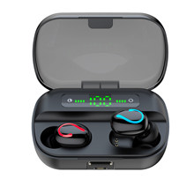 1500mAh Hifi Stereo Bluetooth TWS Earbuds Wireless Earphones Touch Control In Ear Earpieces Handfree 4 Hours Talk No Pain/Fall(China)