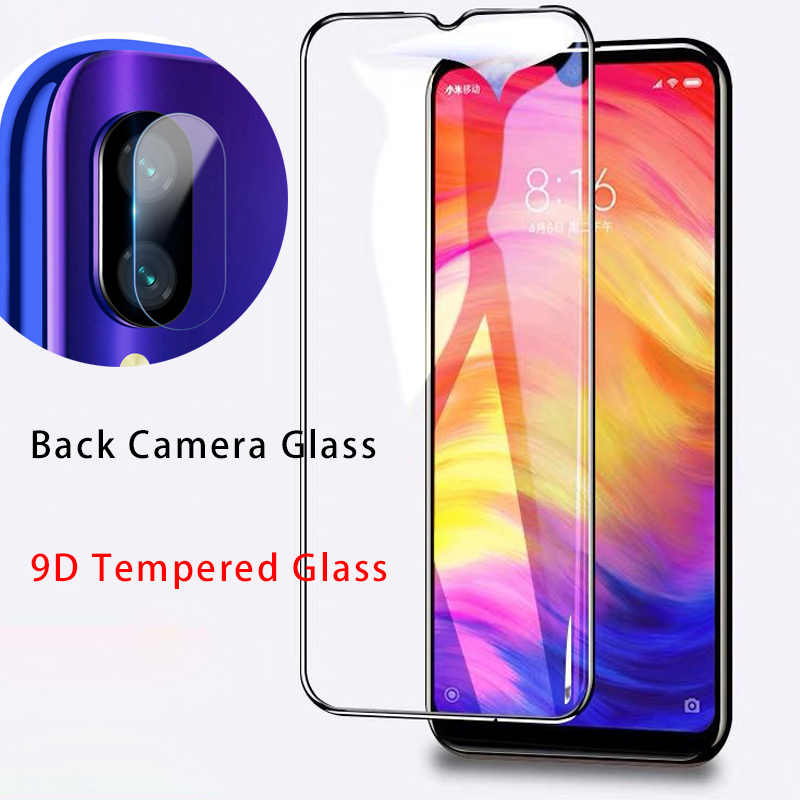 واقي للشاشة لكاميرا Redmi نوت 8 برو 9D الزجاج المقسى لشاومي Redmi K20 برو عدسة زجاج واقي ل 7 6 5 برو 4 4X