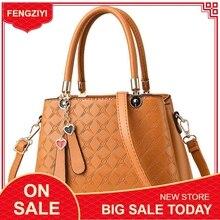 Luxury Designer Women Handbags Pu Solid Crossbody Bags for High Quality big Women`s Shoulder/Top-Handle Bag bolsa feminina