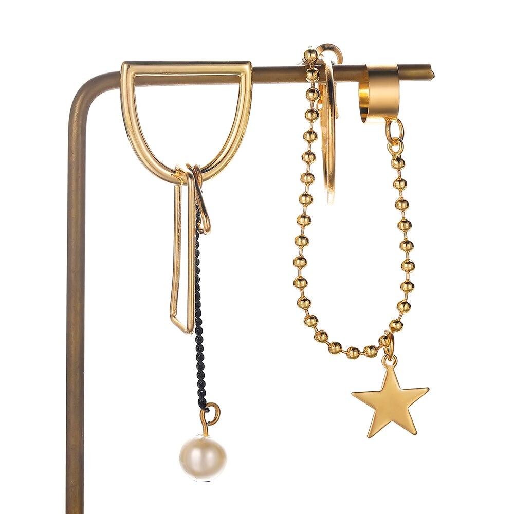 Dcarzz Birds Of Prey Harley Quinn Earrings Pearls Metal Gold Cute Earring Drop Long Couple Earrings Classic Jewelry Women Gift Drop Earrings Aliexpress