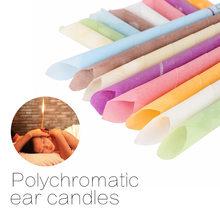 2/10 pces tratamento da orelha cuidados saudáveis velas da orelha remoção da cera da orelha mais limpa tratamento de coning da orelha indiana terapia fragrância candling