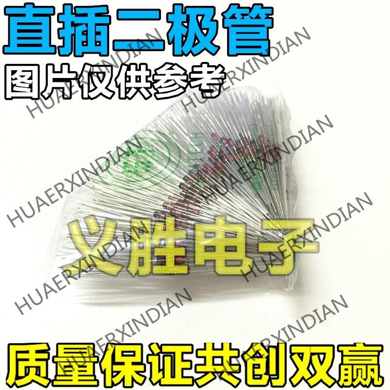 1000PCS new environmental protection 1N4730A 1W IN4730 regulator tube 3. 9V in-line DO-41