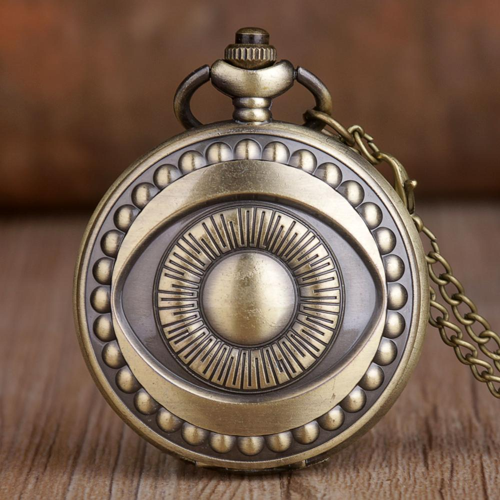 Retro Steampunk Pocket Watch Eye Song Of Ice And Fire The Game Of Thrones Quartz Pocket Watches Men Women Reloj De Bolsillo