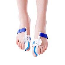 Correção do valgus de hallux do alívio da dor do pé para o dispositivo do pedicure cuidados com os pés