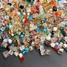 BEAUCHAMP ассорти цветов Кристалл Чешский бисер форма камня Ювелирные изделия кисточкой ожерелье серьги стекло талисманы браслет аксессуары