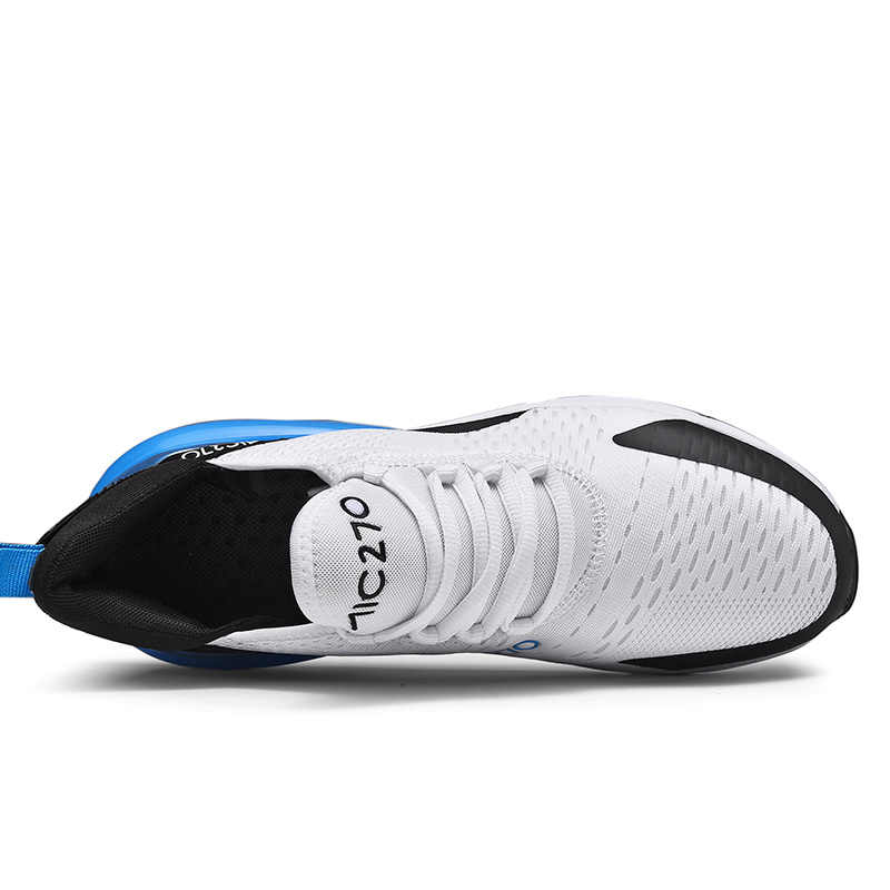Erkek spor ayakkabı nefes hava örgü açık spor ayakkabılar bahar sonbahar çift yastık daireler eğitim koşu ayakkabıları Zapatos De Hombre