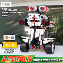Yeshin App Control Progamming Roboter Mit Voice Control Stiefel Roboter Kompatibel Mit lepining 17101 Bausteine Kind Spielzeug